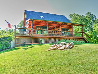 Photo for 'Lakewood Lodge' Hiwassee Cabin w/ Dock Access!