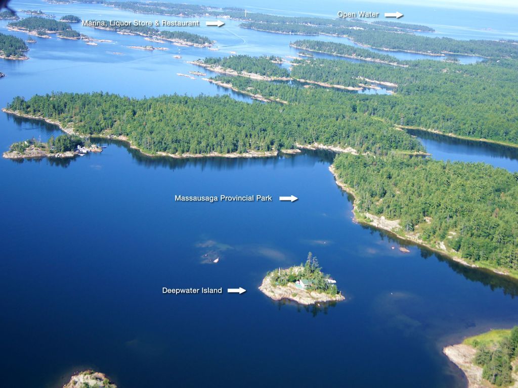 Private Island For Rent 2 5 Hours From Toronto Otter Lake