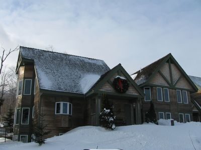 3 bedroom townhouse at Jay Peak, Vermont (prime ski-on / ski-off location)