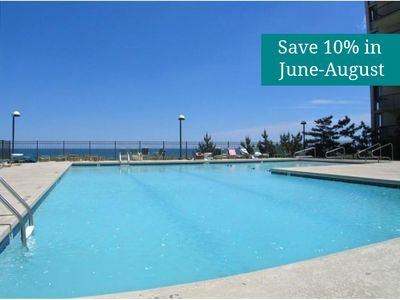 Photo for Beach View! Remodeled N. OC Condo - Wi-Fi, Pool, Tennis, Gym, Sundeck, Sauna