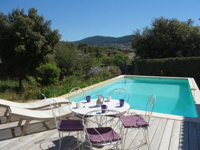 Photo for 4 bedroom Villa, sleeps 6 with Pool, Air Con, FREE WiFi and Walk to Shops