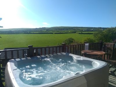 Photo for Perfect Cornish Getaway - Hot tub, tranquility and the beach