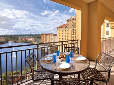 Photo for One Bedroom Deluxe at Bonnet Creek Resort (A112)