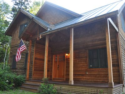 Luxurious Mountain Cabin near Okemo with High-End Modern Amenities for up to 12