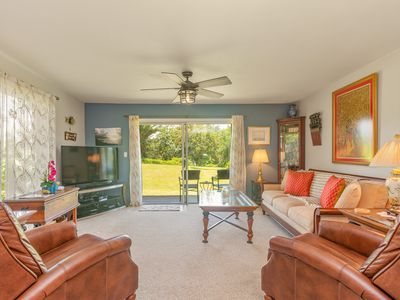 Photo for Exotic & Luxurious, Ground Floor Ocean Bluff Condo, Great for Couples & Family