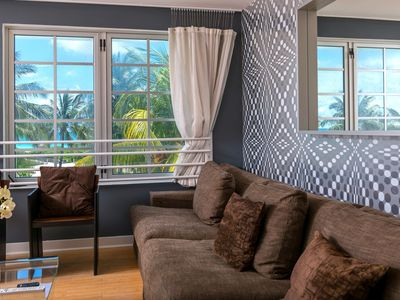 Photo for 2 Bedroom unit on Famous Ocean Drive South Beach