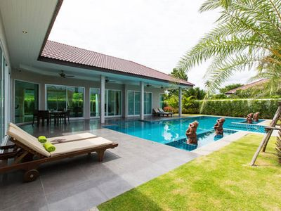 Photo for Luxury Private Villa & Pool Spa. With Meet & Greet Service