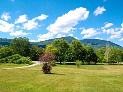 Photo for Beautiful Views of Mt Equinox at the Green Mountain Studio