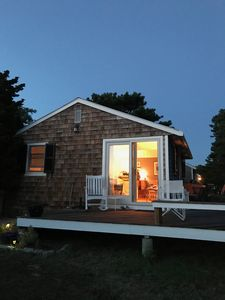Photo for Beautiful 1-bd cottage with water view in the North Truro Hills