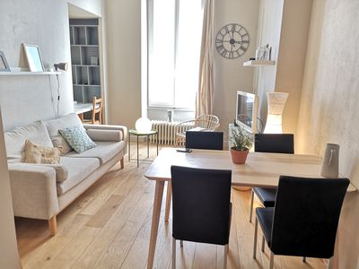 Photo for Nice 2-rooms apartment for 4 ❤️ Near station and GEM #J8