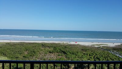 Photo for Ocean front direct on Cocoa Beach 3bed/2bath fully furnished condo