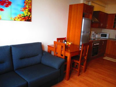 Photo for Central apartment with terrace and balcony next to San Telmo