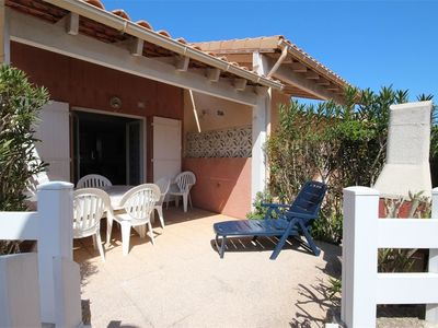 Photo for Holiday house for 5 people in the residence Les marines with pool, Portiragnes plage, 400m from...