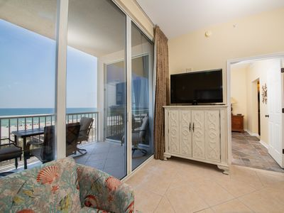 Photo for 4th Floor Family-Friendly Condo w/ On-Site Pool & Hot Tub, On The Beach