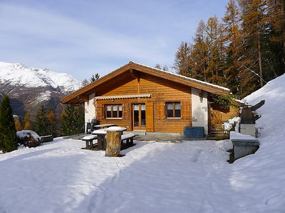 Photo for Vacation home Als man zählte 1989  in St Niklaus, Valais - 4 persons, 2 bedrooms