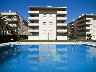 Photo for AQUA with communal pool, beach at 200m