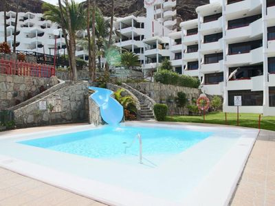 Photo for Nice apartment with pool and a few meters from Playa del Cura