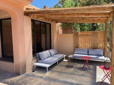Photo for Villa of 120 m2 with private pool, 4 bedrooms, located between sea and mountains