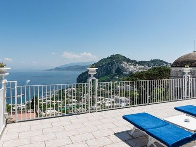 Photo for Marina Grande Villa, Sleeps 10 with Air Con and WiFi