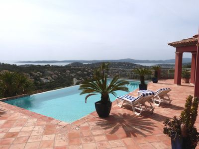 Photo for TOP! Beautiful villa with pool, 4 bedrooms and PANORAMIC SEA VIEW!