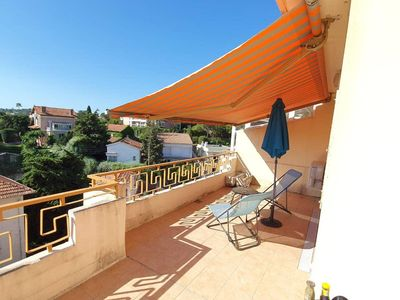 Photo for Antibes Views apartment in Antibes Centre with WiFi, air conditioning, private terrace, balcony & l…