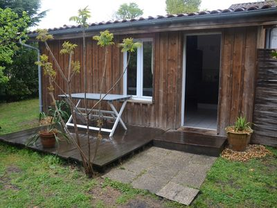 Photo for CHARMING CHALET BOIS 2 ANDERNOS-LES-BAINS