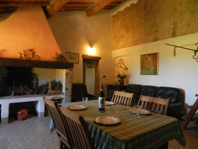 Photo for Country Cottage located in  Fiano Certaldo (Firenze) House with character