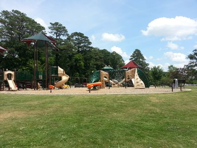 Excellent playground for all ages.