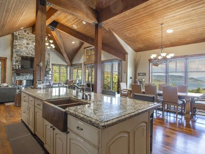 Photo for Luxury 6 bed 7 baths   New Hot Tub   Gourmet Kitchen   Game Room