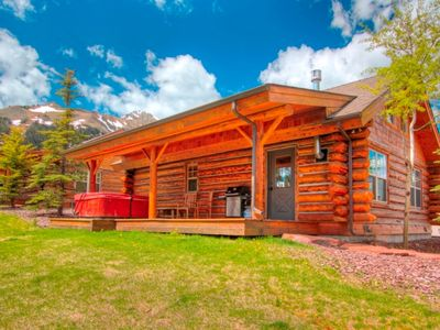 Photo for Step off the Porch onto Ski Slope! Ski-in/out Cowboy Heaven Cabin+Moonlight Club