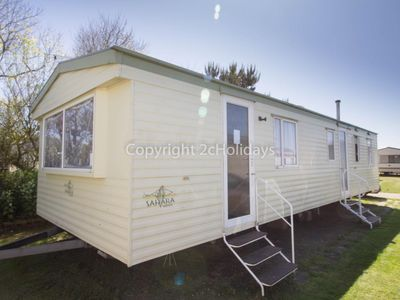 Photo for 8 berth caravan for hire near Great Yarmouth at Broadland sands ref 20112