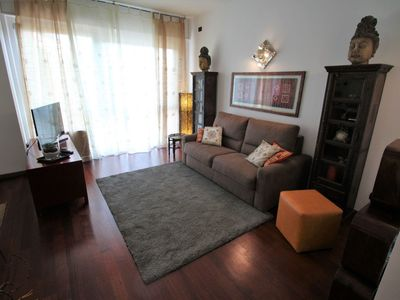Photo for Lovely apartment for 4 guests with WIFI, A/C, TV, balcony and parking
