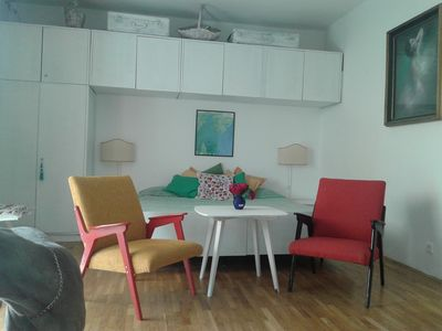 Photo for HOLIDAY RESIDENCE only 50 m from the sea, nice view and walk to the beach