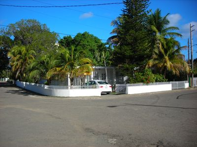 View of the house at the corner of Calle 11 and Calle 10.