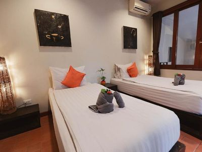 Photo for Two bedrooms Mandara Villa B  with breakfast