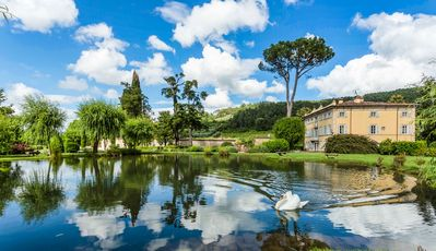 Photo for Aristocratic 17th century Villa Lenka nestled in tranquil Italian gardens with pool & daily maid