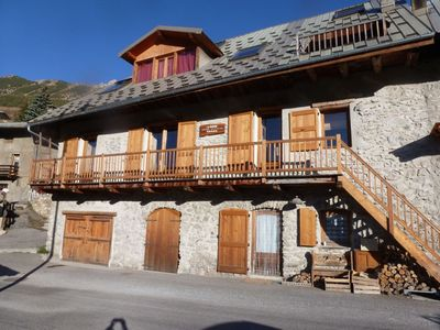 Photo for 2 communicating apartments in chalet, 115 m2, 14 pers