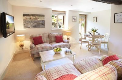 Ground floor: Open plan kitchen/dining and sitting room