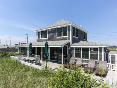 Photo for Private 4 Bed -4 Bath Home, Truro Bay Waterfront, Private Beach, Newly Renovated