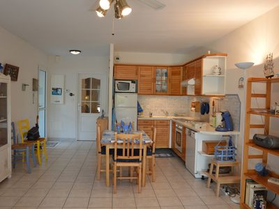 Photo for St Brevin the Ocean: appt. 100m from the sea, patio, private entrance