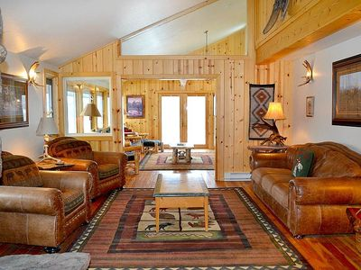 Photo for Aspens A1A: The Aspens - Great Deck with Mountain Views and Lots of Western Charm