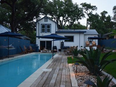 Photo for Large Pool & Backyard in the Heart of South Austin