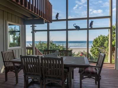 Photo for Experience Driftwood Beach Guest House, an oceanfront home in Seal Rock, OR!