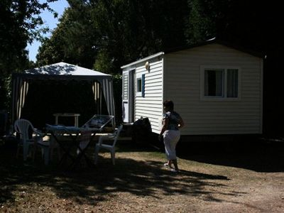Photo for Camping Les Bruyères *** - Mobil Home Bambi Without Bathroom 3 Rooms 4 People