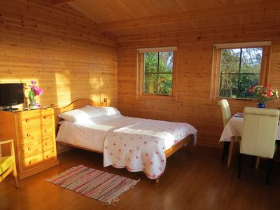 Photo for Pine Lodge With Spectacular Sea Views And Sunsets The Perfect Romantic Get-Away