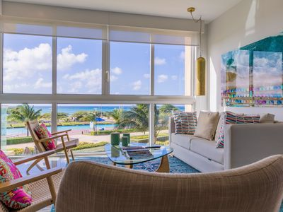 Photo for Aqua means Vitamin Sea is around the corner. OCEAN VIEW Condo for 8. Blue-221