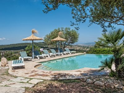 Photo for Beautiful Mallorcan Finca with Private Pool , very Peaceful and Impressive all round Views!!
