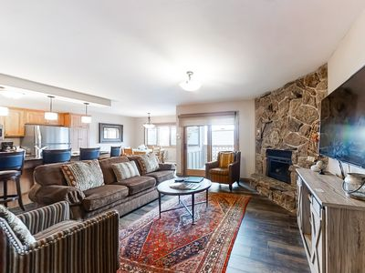 Photo for Polished condo across the street from gondola w/multiple resort amenities