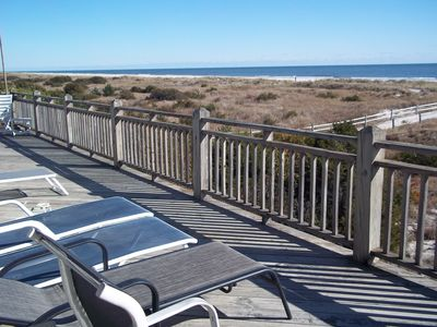 Photo for Oceanfront 5 bdr/3 ba, spectacular open views of dunes, beach and ocean