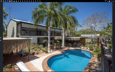 Cool Bay Breezes and lovely views over the Pool and landscaped 1/4 gardens.